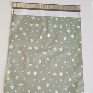 """10 pcs Stars Poly Mailers 14.25"""" x 19"""" inch"""